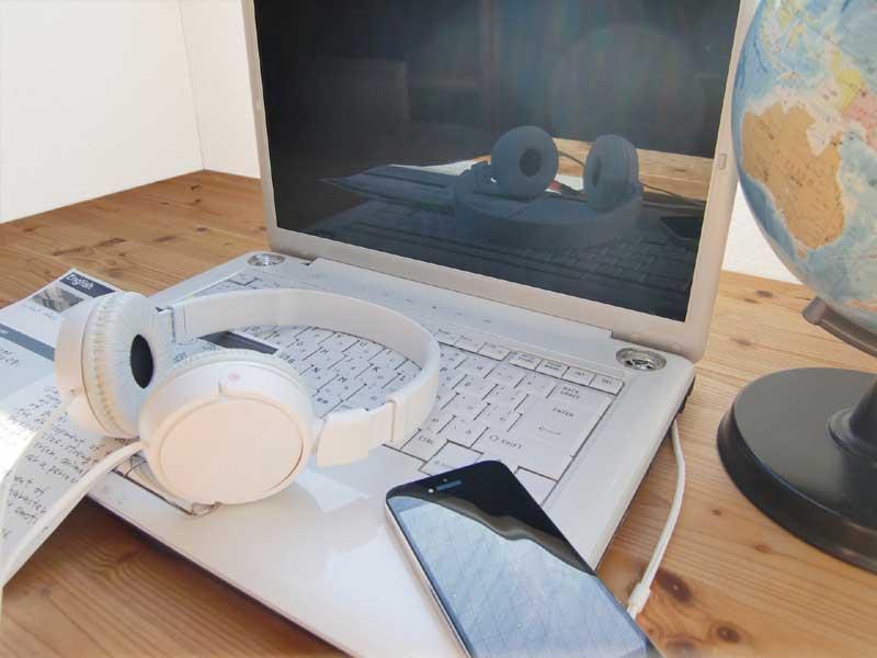 パソコン・ヘッドセット