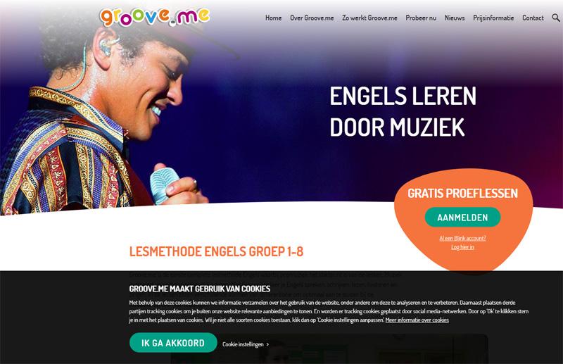 groove.me ホームページ
