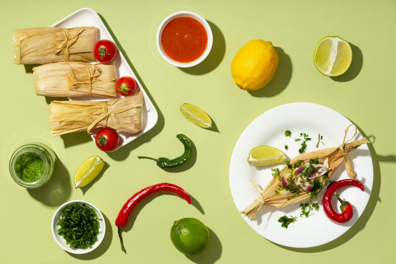 メキシコの郷土料理、Tamales(タマレス)
