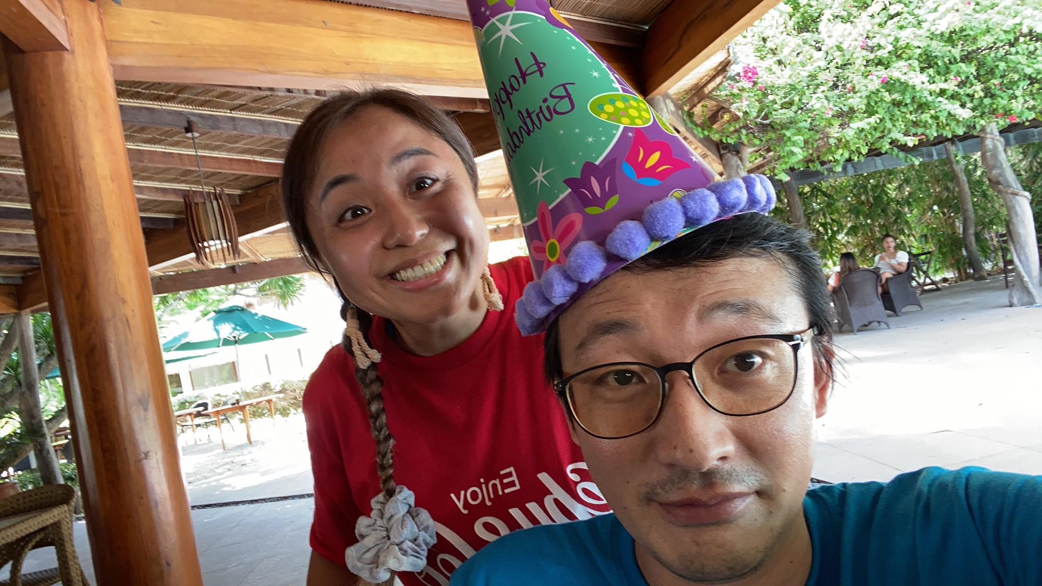 フィリピンでの誕生日